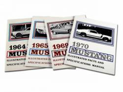 Accessories - Literature - Scott Drake - 1968 Mustang Fact Book