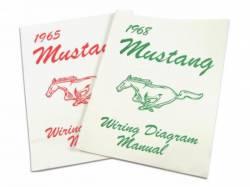 Accessories - Literature - Scott Drake - 1970 Mustang Wiring Diagram Manual