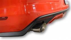 15 Mustang GT MRT Interceptor Axle Back Exhaust, Black