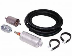 Fuel System - EFI Conversion Kits - Miscellaneous - 1964 - 1973 Mustang  MSD Atomic EFI High Horsepower Fuel Pump Kit