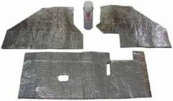 Insulation & Underlayment - Floor - QuietRide Solutions - 64 - 66 Mustang Cowl Acoustic Kit
