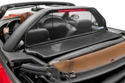 Convertible Top - Wind Deflectors - Love The Drive - 94 - 04 Mustang Convertible Wind Deflector Kit, use w/ Light Bar