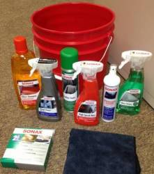 Accessories - Car Care - Miscellaneous - Sonax Premium Quality Car Care Product Kit