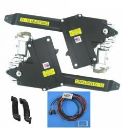 Nu Relics Power Windows - 71 - 73 Mustang Power Window Kit- Chrome Switch