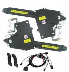 Windows - Power Window Kits - Nu Relics Power Windows - 71 - 73 Mustang Power Window Kit Front Windows