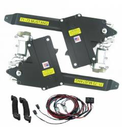 Windows - Power Window Kits - Nu Relics Power Windows - 71 - 73 Mustang Power Window Kit- Black Illum