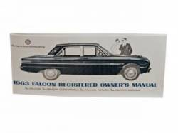 Accessories - Literature - Scott Drake - 1963 Falcon Owners Manual