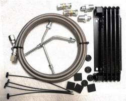 Transmission - Oil Cooler & Related - Performance Automatic - 5 Row Ford Mustang Cooler Kit w/ 11 ft Line