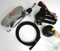 Master Cylinders & Boosters - Master Cylinder - Scott Drake - 64 - 73 Mustang Electric High Pressure Master Cylinder Kit