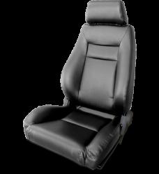 Procar - Mustang Procar Elite Seat, Black Vinyl, Left