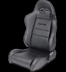 Seats & Components - Aftermarket Seats - Procar - Mustang Procar Sportman Black Vinyl Seat, Left