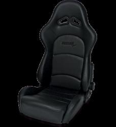Seats & Components - Aftermarket Seats - Procar - Mustang ProCar Sportman PRO Recliner Seat, Black Vinyl
