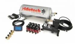 Suspension - Air Ride & Related - RideTech - 1965 - 1973, 1979-1981, 1994-2014 Mustang  RideTech RidePRO Digital 4 way system