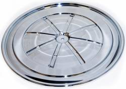 Engine - Air Filters - Scott Drake - 67- 70 Mustang Chrome HiPo Air Cleaner Lid