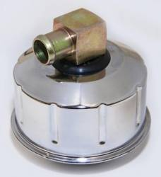 67 - 69 Mustang Closed Emissions Chrome Oil Cap