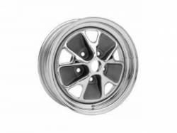 Wheels - 14 Inch - Scott Drake - 1968 - 1969 Mustang  Styled Steel Rim (14x7 Chrome)