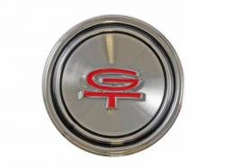Wheels - Hub Caps & Trim Rings - Scott Drake - 1968 - 1969 Mustang  Styled Steel Hub Cap (G.T)