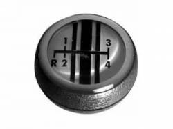 Console & Related - Shifter & Related - Scott Drake - 68-69 Mustang 4 Speed Shift Knob