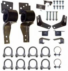 Exhaust - Hangers & Clamps - Scott Drake - 67 - 69 Mustang Exhaust Hanger Kit
