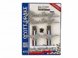 Emblems - Kits - Scott Drake - 1968 Mustang Emblem Kit (289)