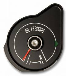 Gauges - Stock Gauges - Scott Drake - 1969 Mustang Oil Pressure Gauge, Black