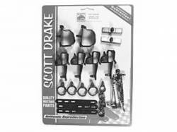 Wire Harnesses - Mounting Hardware - Scott Drake - 1969 Mustang Wire Loom Mounting Kit