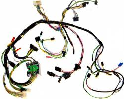 Wire Harnesses - Under Dash - Scott Drake - 1969 Mustang Under Dash Wiring Harness, use w/ Tach