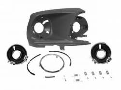 Headlight - Assemblies - Scott Drake - 1969 Mustang Headlamp Bucket Assembly (RH)