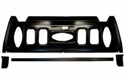 Trunk Area - Trunk Divider & Package Shelf - Scott Drake - 69 - 70 Mustang Fastback Trunk Divider