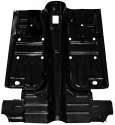 Floor Pan - Complete - Scott Drake - 69 - 70 Mustang Coupe/Fastback Floor Pan, Pan Only