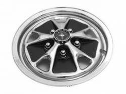 "Wheels - Hub Caps & Trim Rings - Scott Drake - 1965 - 1967 Mustang  Styled Steel Plastic Hub Caps (14"" Diameter)"