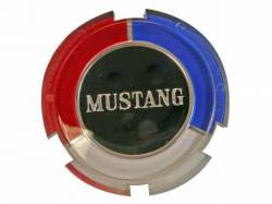 Wheels - Hub Caps & Trim Rings - Scott Drake - 1965 Mustang Hub Cap Knock Offs and Emblems