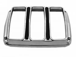 Electrical & Lighting - Tail Lights - Scott Drake - 64-66 Mustang Tail Light Bezels (Concours, Pair)