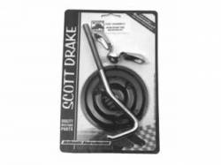 Wheels - Spare Tires & Related - Scott Drake - 1965 - 1967 Mustang  Spare Tire Mounting Kit Hook (Bolt Style)