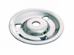 64-67 Mustang Styled Steel Wheel Hold Down Plate, Chrome