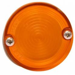 Electrical & Lighting - Back Up Lights - Scott Drake - 64 - 68 Mustang Back Up Light Lens (amber)