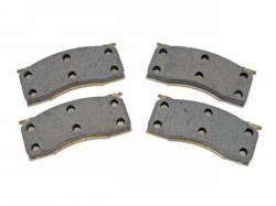 Disc Brakes - Pads - Scott Drake - 65-67 Mustang Semi-Metallic Disc Prake Pads
