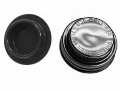 Master Cylinders & Boosters - Master Cylinder - Scott Drake - 65-66 Mustang Master Cylinder Cap (Drum Brakes, Gold Cadmi