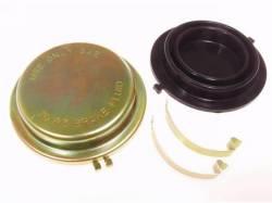 Master Cylinders & Boosters - Master Cylinder - Scott Drake - 1964 - 1966 Mustang  Master Cylinder Cap (Disc Brakes, Gold Zinc)