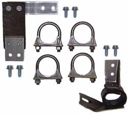 Exhaust - Hangers & Clamps - Scott Drake - 64 - 66 Mustang Exhaust Hanger Kit