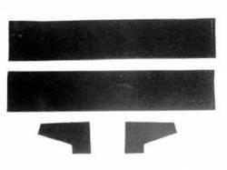 1964 - 1966 Mustang  Rear Vertical Glass Run Repair Kit