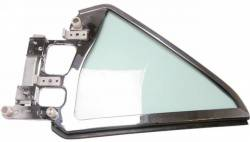 Window Glass - Quarter Glass - Scott Drake - 64 -66 Mustang Coupe Quarter Glass Assembly (rh)