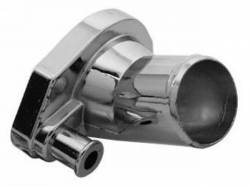 Cooling - Thermostat & Related - Scott Drake - 1964 - 1973 Mustang Chrome Thermostat Housing (260, 289, 302, 351W)