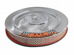 Engine - Air Filters - Scott Drake - 1965 - 1967 Mustang Concours Air Cleaner (Chrome/Blue)