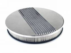 Engine - Air Filters - Scott Drake - 65 - 73 Mustang Aluminum Finned Air Cleaner