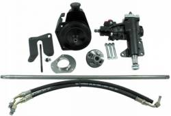 Borgeson - 64 - 66 Mustang Integral Power Steering Conversion Kit - 289, 302, 351W Engines