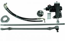 Borgeson - 64 - 66 Mustang Power Steering Conversion Kit - Small Block V8