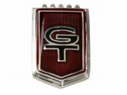 "Emblems - Fender - Scott Drake - 1966 Mustang Fender ""GT"" Emblems"