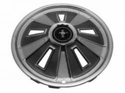Wheels - Hub Caps & Trim Rings - Scott Drake - 1966 Mustang  Standard Hub Caps (14 Inch Diameter)