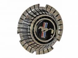Wheels - Hub Caps & Trim Rings - Scott Drake - 1966 Mustang Hub Cap Knock Offs and Emblems